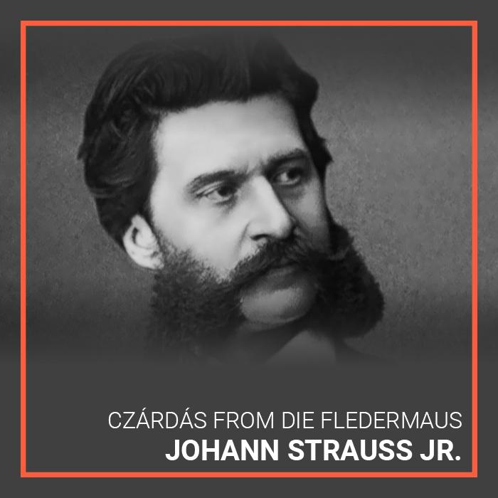 Johann Strauss's Czardas from Die Fledermaus