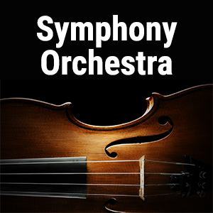 Symphony orchestra scores and transcriptions